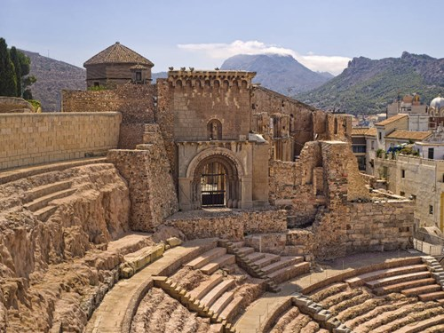 Ruins in Cartagena, Spain