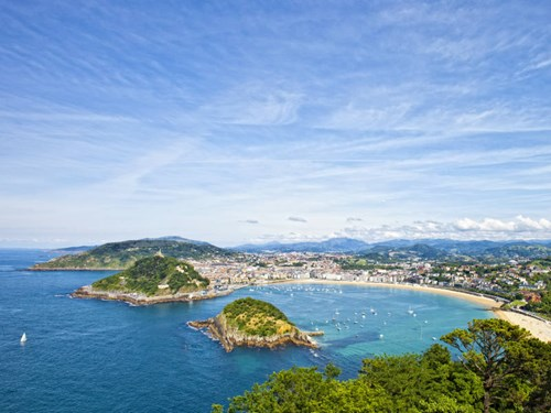San Sebastian in northern Spain