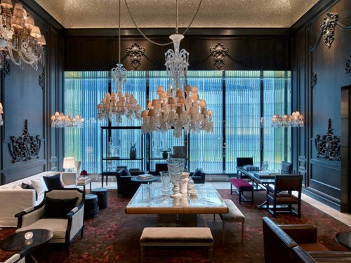 Baccarat Hotel in NYC, USA