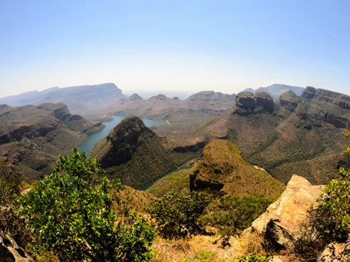 Blyde River Canyon Nature Reserve in South Africa