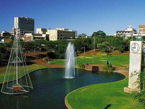 Polokwane in Limpopo South Africa