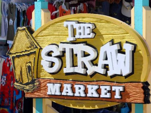 The Straw Market in the Bahamas