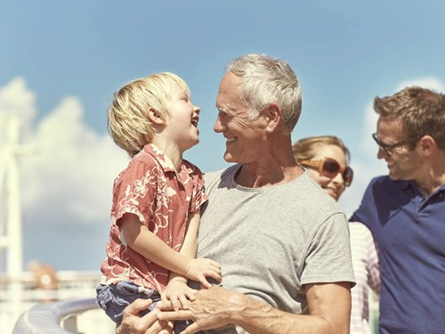 Multigenerational cruises: Travels with grandma, mummy, and me